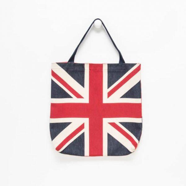 Borsa tessuto goblin con bandiera inglese