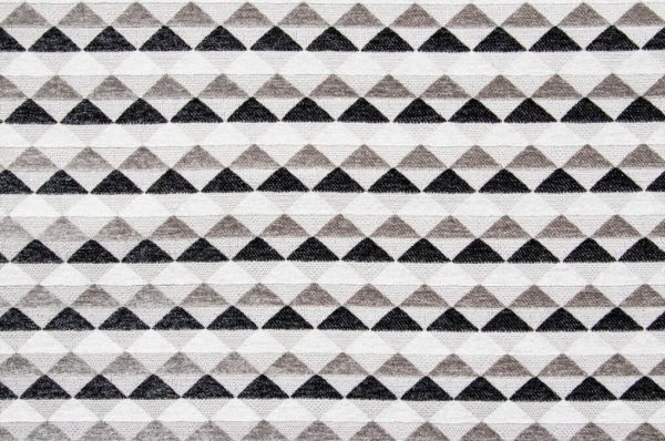 Tessuto d'arredamento cotone puro fantasia geometrica