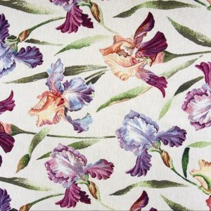 Tessuto d'arredamento gobelin fantasia floreale