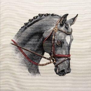 Trittico gobelin centrotavola cavallo