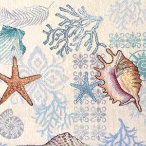 Dettaglio centro tavola fantasia marina