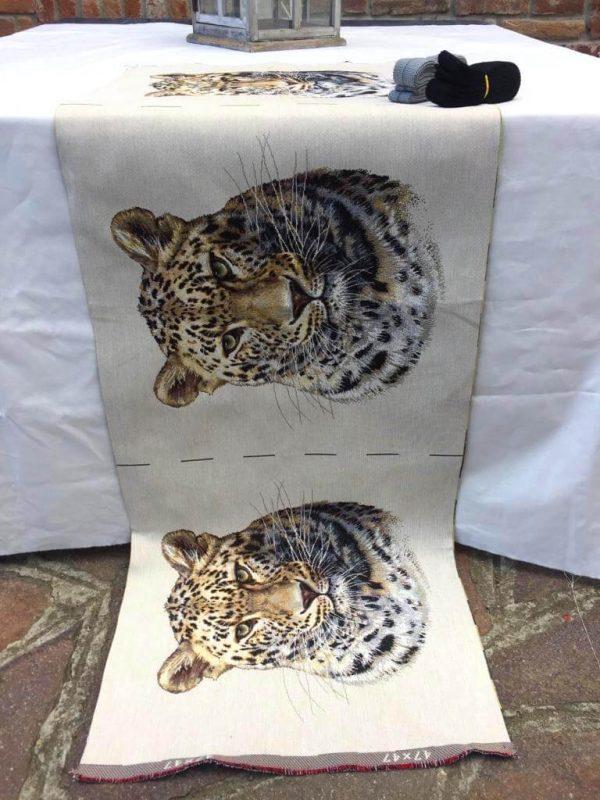 Trittico con ghepardo